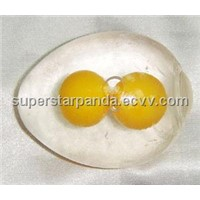 sticky egg venting ball, egg splat ball,double yolk egg venting ball