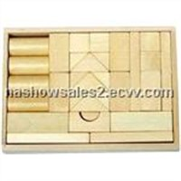 wooden blocks set & kids furniture& wooden toys