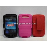 cell phone combo cases for blackberry 9800