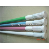 eco-friendly PVC coating aluminum extension shower curtain rod