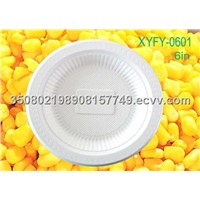 eco-friendly corn starch plate:XYFD-0601