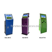 Slim Design Self-service Kiosk for checking information