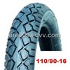 motorcycle tire and tube 110/90-16