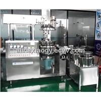 50L Body Lotion Cream Vacuum Mixing Emulsifier