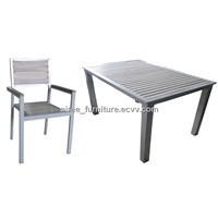 Aluminium Plastic Wood Set