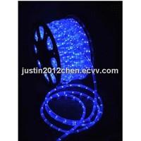 Blue waterproof  Round LED christmas lights/rope light