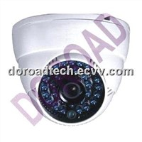 Color CCD Dome CCTV Camera with IR 35m