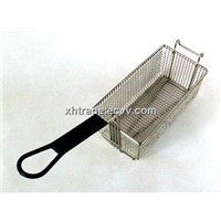 Deep Fry Basket, Fried Chicken Basket,Stainless Steel Fry Basket