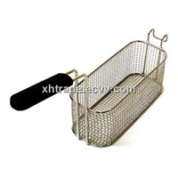 Fry Basket, Corrugated Mesh Frying Basket