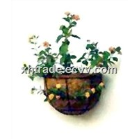Hanging Coir Basket, Coconut Fibrous Holder, Garden Planting Basket