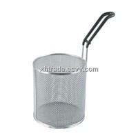 Pasta Basket,Pasta Cooker Basket,Stainless Steel Wire Mesh Kitchen Cookware