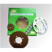 RS125 Motorcycle Sprocket and Chain