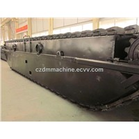 ZD210 Undercarriage Pontoon for Hitachi Upperstructure Excavator