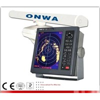 10.4-inch color display 64nm marine AIS radar