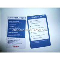 13.56MHz HF Thermal Rewrite Card or Rewritable Smart Card