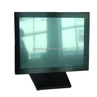 15inch desktop all in one  touch panel pc for industrial D525 1.8Ghz CPU