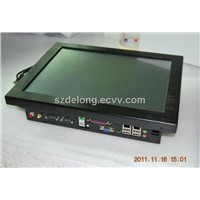 15inch touch all-in-one POS pc with card reader