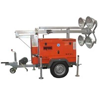 4000W Mobile Light Tower