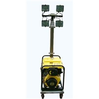 4x500W Philips Halogen Lamps Mobile Light Tower