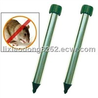 AluminumTube Ultrasonic Mole Repeller and Rodent Control