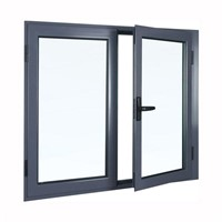 Aluminum Inward Casement Windows
