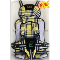 Baby/Kid/Toddler Car Safety/Safe Booster Seat Cover Harness Cushion-Yellow