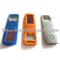 Bottle Opener Solar Flashlight