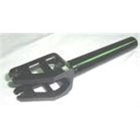 CNC machining billet aluminum scooter fork bicycle forks anodized, Skate Scooter Parts