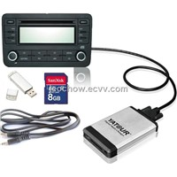 Car MP3 interface USB SD adapter for vw audi skoda seat MFD2 RCD300 RCD510 Concert 3