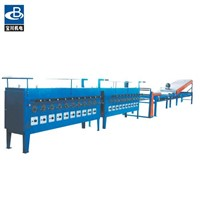 Copper-clad aluminum series conduit annealing machine