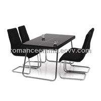 Dining Sets, Dining Table made of tempered glass, good qualitu guarantee.