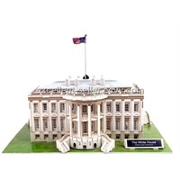 Foam 3D puzzle--the white house puzzle of USA building puzzle DIY toys