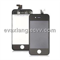 For iPhone 4S LCD and Touch Screen with Frame Assembly - Black