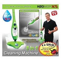 Hot -sell  5 in 1 Steam mop h2o X5 steam cleaner x5, h20 steam mop