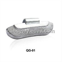 Lead Clip-on Weight for Steel Rims QG-01