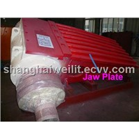 Movable Jaw Plate-- Crusher Part