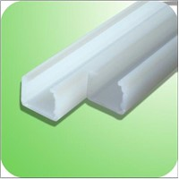 New craft plasitc pvc rainwater gutters,u-shaped  plastic profile