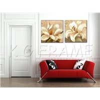 Non-frame decorative painting frame