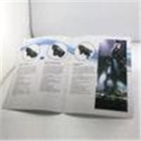OEM Folding saddle stiching Color Booklet Printing with foil-stamping for advertising