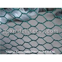 PVC coated hexagonal wire mesh for fence and poultry mesh