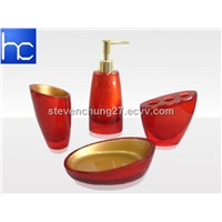 Polyresin bathroom sets HC-B00051