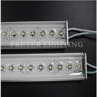 Rigid Red IP65 Waterproof LED Bar Light with 5mm through-Hole LEDs 108 LEDs (1m) 12V