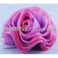 Skin-friendly bath puff / shower puff / body puff / mesh puff