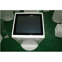 "Floor stand touch screen kiosk with19"" IR touchscreen"