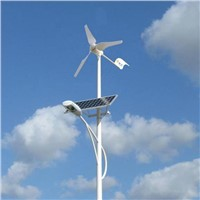 Wind-Solar Hybrid System for street light
