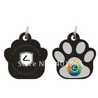 eco-friendly silicone pet id tag