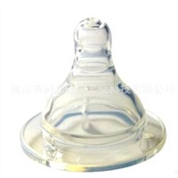 food grade liquid silicone feeding nipple for baby