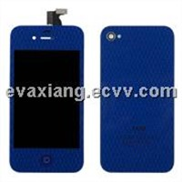 for iphone 4s LCD Screen-dark blue color