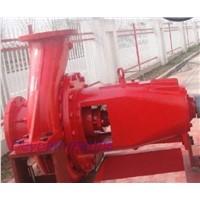 marine external fire pump