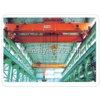 top prefessional industrical  double beam hook portal bridge crane